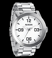 Nixon Watch The Corporal SS silver white