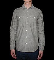 Carhartt Shirt Clink grey garden rinsed