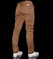 Carhartt Sid Pant Lamar brown carhartt light stone wash
