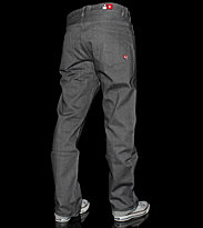 DC Jeans Relaxed-Core grey rinsed