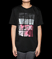 DC Kids T-Shirt Square Stare black