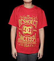 DC Kids T-Shirt American Made red athletic