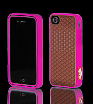Vans iPhone 4 Case purple magenta