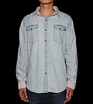 Insight Shirt Duane blue bleach classic