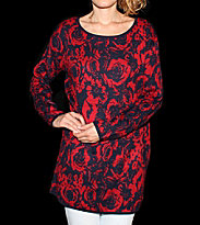 Insight W Pullover Ritual Rose red rose