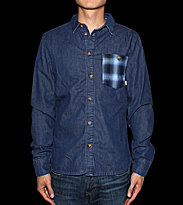 Revolution Shirt Piet blue navy