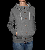 Bench W Zip Hooded Bernie grey stormcloudmarl