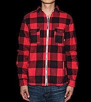 Revolution Flannel Jacket Frederik red
