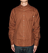 Obey Shirt Hikori brown