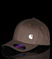 Carhartt Flexfit Cap Match brown choco/white