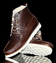 Pointer Shoes Calum Leather brown chocolate/off white