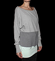 Ucon W Pullover Decon grey/light grey/grey/light mint