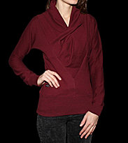 Ucon W Pullover Nitra red bordeaux