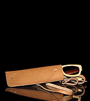 Sandqvist Eyeglass Case Vasuma brown tan
