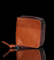 Sandqvist Wallet Aina brown cognac