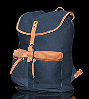 Sandqvist Backpack Roald blue