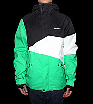Zimtstern Snowjacket Inventor green/black/white