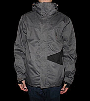Zimtstern Snowjacket Big Bang grey dark