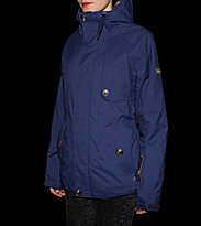 Zimtstern W Snowjacket Belle blue navy
