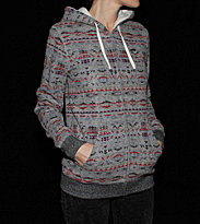 Element W Zip Hooded Grafton grey charcoal heather
