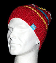 Dakine Beanie Lucy red cherry