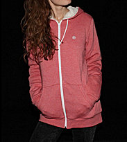 Element W Zip Hooded Fuchs pink rosie