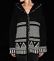 Insight W Cardigan Mendoza black
