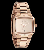 Nixon Watch The Small Player pink all rose gold