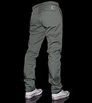 Carhartt Pant Sid Wichita green marsh mill washed