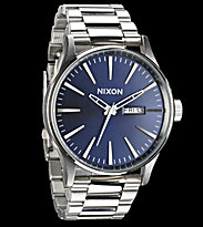 Nixon Watch The Sentry SS blue sunray