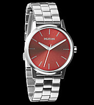 Nixon Watch The Small Kensington red dark