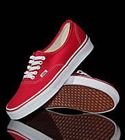 Vans Shoes Authentic red
