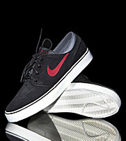 Nike Shoes Zoom Janoski black/team red