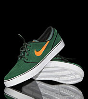 Nike Shoes Zoom Janoski green gorge/total orange