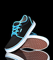 Vans Kids Shoes Chukka Low black/sky blue