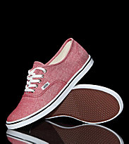 Vans W Shoes Authentic LO PRO red chili pepper