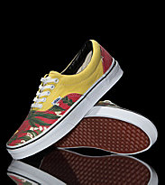 Vans Shoes Era Van Doren yellow hawaiian/red