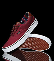 Vans Shoes Era 59 red tawny port/guate