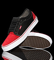 Vans Shoes Chukka Low red scarlet/black