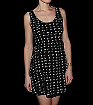 Volcom W Dress Stephanie Cherry Love black combo