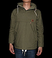 Carhartt Jacket Hayden green bog light washed