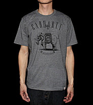 Carhartt T-Shirt Elephant grey dark heather