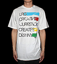 LRG T-Shirt Creative Currency white