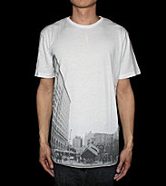DC T-Shirt Downtown Cross white optic