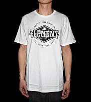 Element T-Shirt Crossover white