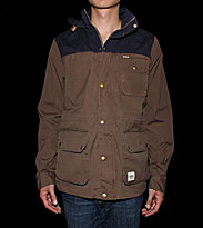 Wemoto Jacket Gus brown teak/navyblue