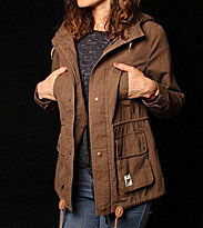 Wemoto W Jacket Izzy 2 brown teak