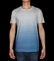 Sixpack T-Shirt Gradient blue grey heather