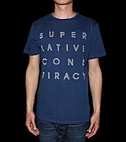 Wesc T-Shirt SC Le Notti blue estate