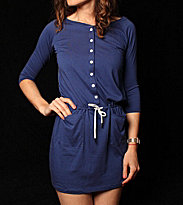 Ucon W Dress Maike blue navy